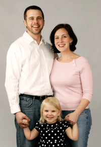 Pastor Nate and his family.